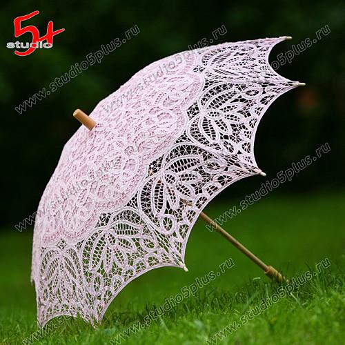 Свадебный зонт невесты