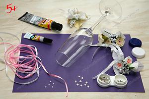 Как украсить бутылку на свадьбу своими руками стильно и 4