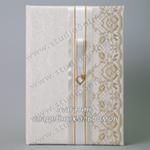 Красивая книга для пожеланий на свадьбу новобрачным с сердечками